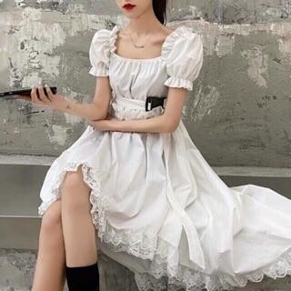 Đầm trắng ( Thanh lý )