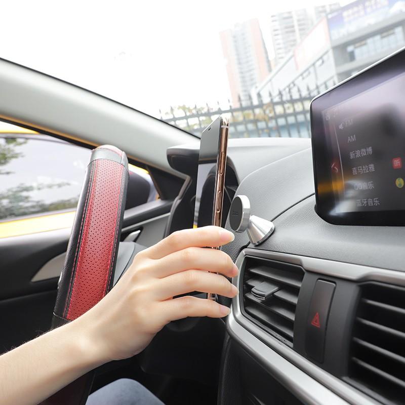 Giá đỡ điện thoại trên ô tô CHÍNH HÃNG HOCO CA46 nhỏ gọn gắn taplo xe, đầu hít nam châm chắc chắn, xoay đa hướng