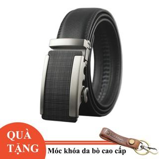 Thắt lưng nam da thật Anh Tho Leather - P112 - Tặng móc khóa da bò thumbnail