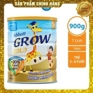Sữa bột Abbott Grow Gold 3 900g _Phương Dũng