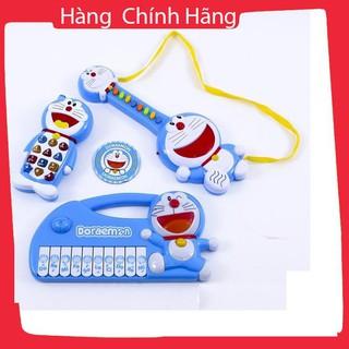 [Giảm giá] Bộ đàn và điện thoại phát nhạc Doraemon cho bé yêu_Hàng tốt