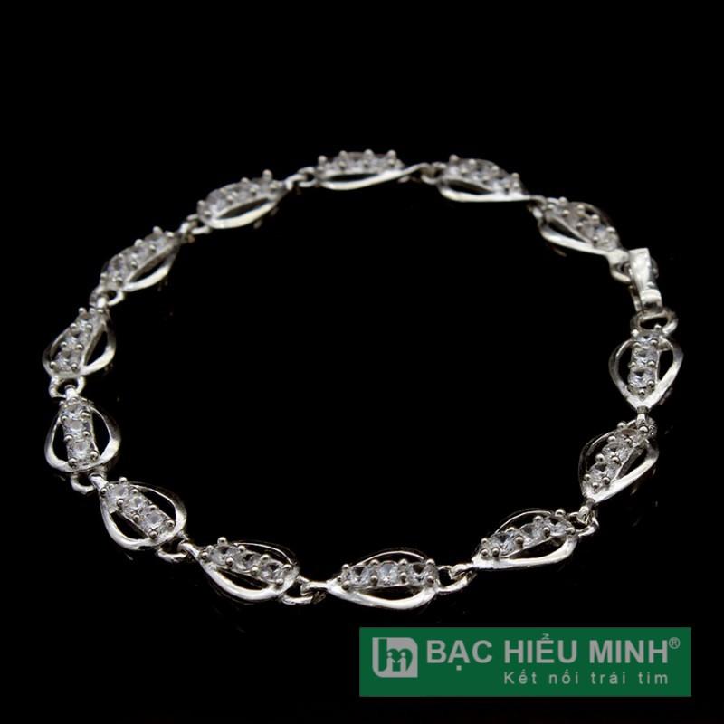 lắc tay bạc nữ Bạc Hiểu Minh ltu416 bạc ta