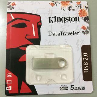 [Mã ELFLASH5 giảm 20K đơn 50K] USB 2.0 kingston chống nước dung lượng 64GB - chính hãng