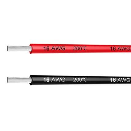 [HCM] – Dây Silicon 16 AWG chống cháy 16AWG chịu nhiệt – siêu dẻo siêu mềm chịu tải 30A cho NLMT RC Drone Quad