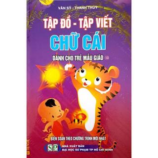 Sách - Combo 3 quyển Tập Đồ - Tập Viết Chữ Cái dành cho trẻ mẫu giáo thumbnail