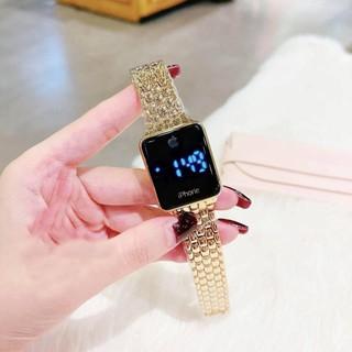 Đồng hồ iphone màn hình CẢM ỨNG điện tử quai hợp kim không rỉ pin siêu bền thời thượng thumbnail