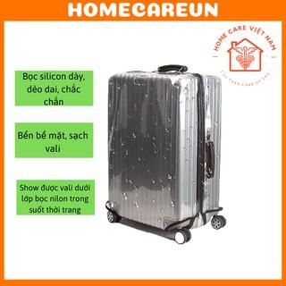 Bọc vali silicon cao cấp chất dầy dặn, chống nắng chống mưa thumbnail