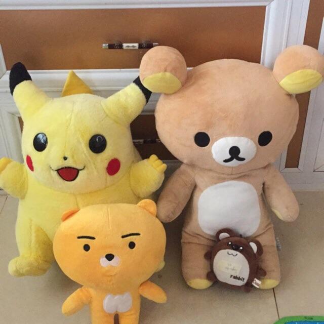 combo 4 gấu bông