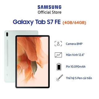 Hình ảnh [Mã ELSAMHOT giảm 5% đơn 3TR] Máy tính bảng Samsung Galaxy Tab S7 FE-5