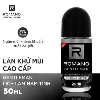ROMANO – LĂN KHỬ MÙI ĐỦ MÙI HƯƠNG MỚI LOẠI 50ml – Superbox – Có thẻ mua tại Cửa Hàng