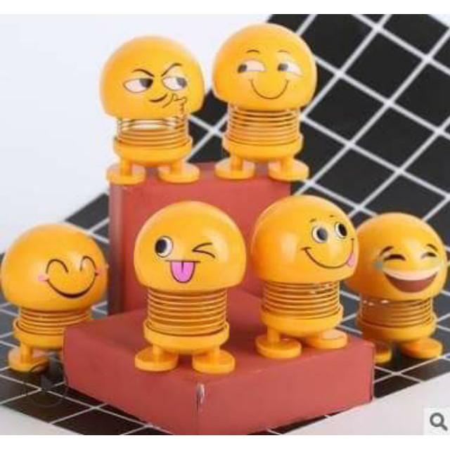 mặt cười lò xo để bàn
