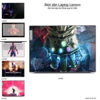 Skin dán Laptop Lenovo in hình Inifinity War (inbox mã máy cho Shop) thumbnail