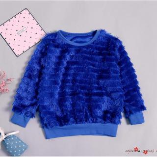 ✿Sc♚Kid Baby Girls Sweater Autumn Spring Clothes Sweaters Tassel Clothes Toddler Outerwear