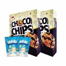 Thông tin sản phẩm Combo 2 hộp Chocochip Dừa 300g + 2 túi Ahha 120g - 2566698 , 778396554 , 322_778396554 , 155000 , Thong-tin-san-pham-Combo-2-hop-Chocochip-Dua-300g-2-tui-Ahha-120g-322_778396554 , shopee.vn , Thông tin sản phẩm Combo 2 hộp Chocochip Dừa 300g + 2 túi Ahha 120g