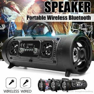 Bluetooth Speaker CH-M17 Car Subwoofer with Card LED Light Support TF Card Multifunctional Speakers