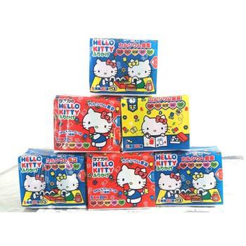 Gia vị rắc cơm thập cẩm Hello Kitty Sanrio 20 túi (4 túi x 5 vị) - Nhật Bản