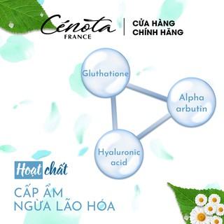 Miếng mặt nạ nâng cơ dưỡng trắng Cénota Whitening Beauty Mask 30ml 7