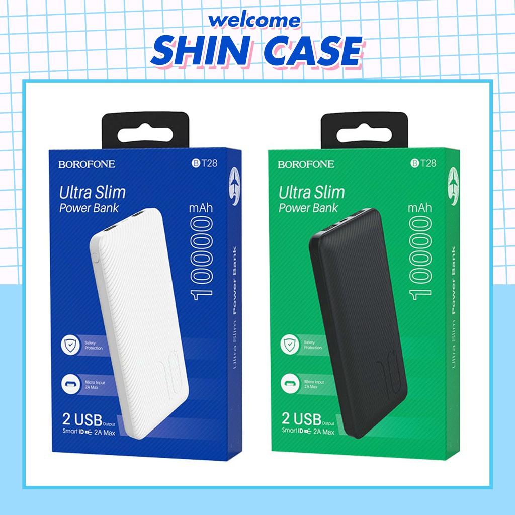 Sạc pin dự phòng Borofone BT28 10000mAh Chính Hãng - Bảo Hành 6 Tháng - Ốp lưng iphone - Shin Case