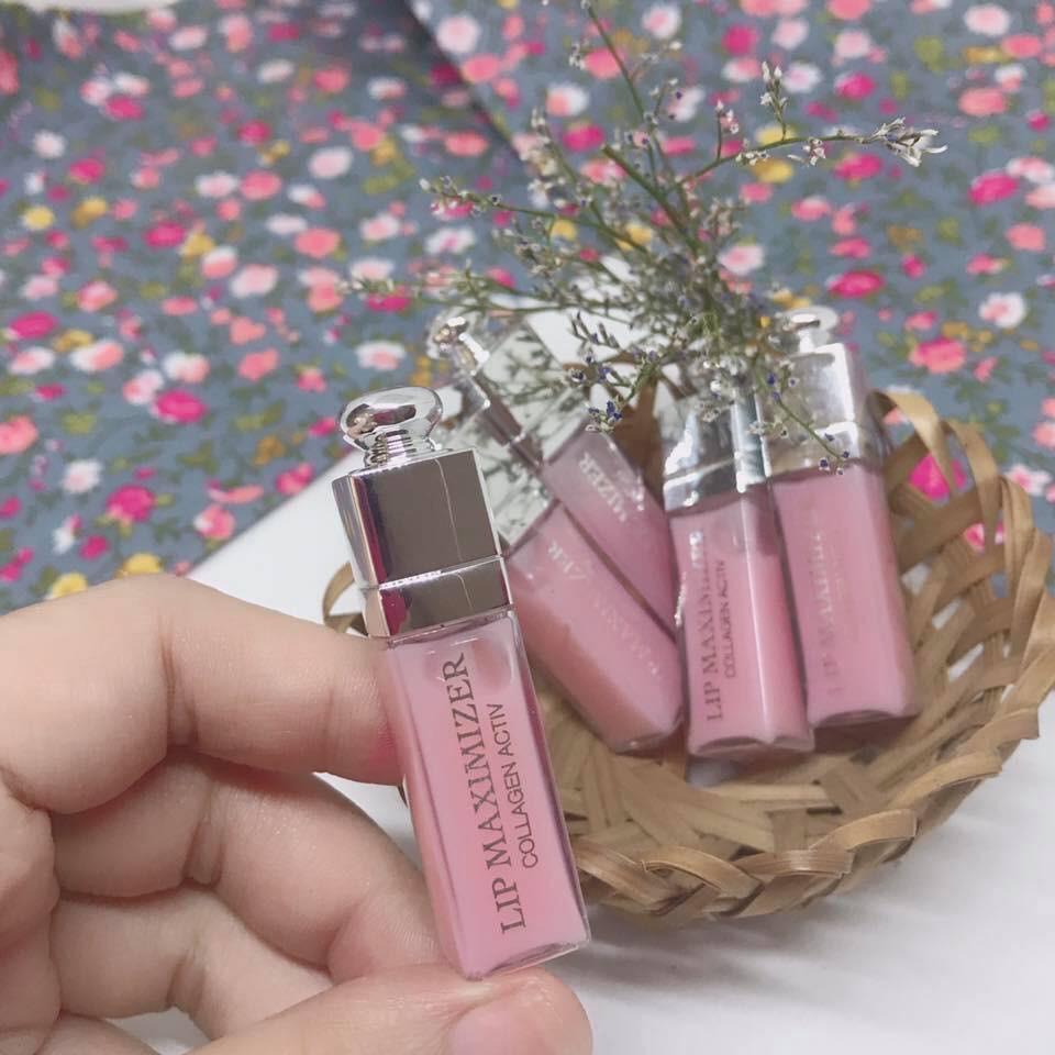 Son dưỡng Dior Lipmaximizer Collagen Activ mini 2ml | Shopee Việt Nam