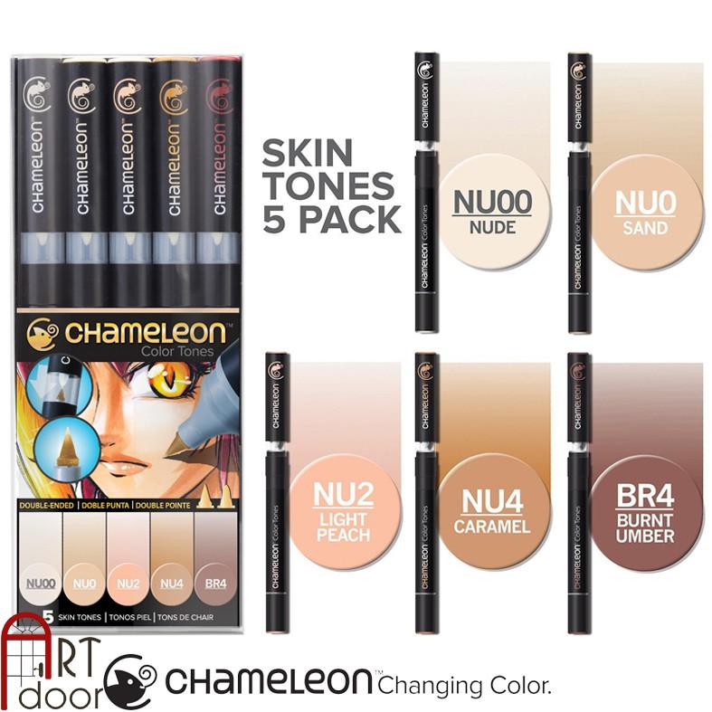 [ARTDOOR] Bộ bút marker CHAMELEON 5 cây (Skin Tones) - 3425940 , 752206231 , 322_752206231 , 460000 , ARTDOOR-Bo-but-marker-CHAMELEON-5-cay-Skin-Tones-322_752206231 , shopee.vn , [ARTDOOR] Bộ bút marker CHAMELEON 5 cây (Skin Tones)