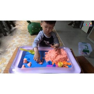 Đồ chơi cát động lực kèm bể phao (SIÊU RẺ)