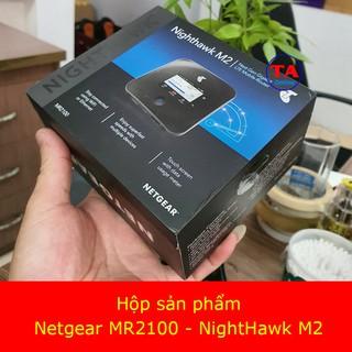 Bộ phát WiFi di động 4G Netgear MR2100 ( Nighthawk M2) - Tốc độ 4G lên tới 2Gbps thumbnail