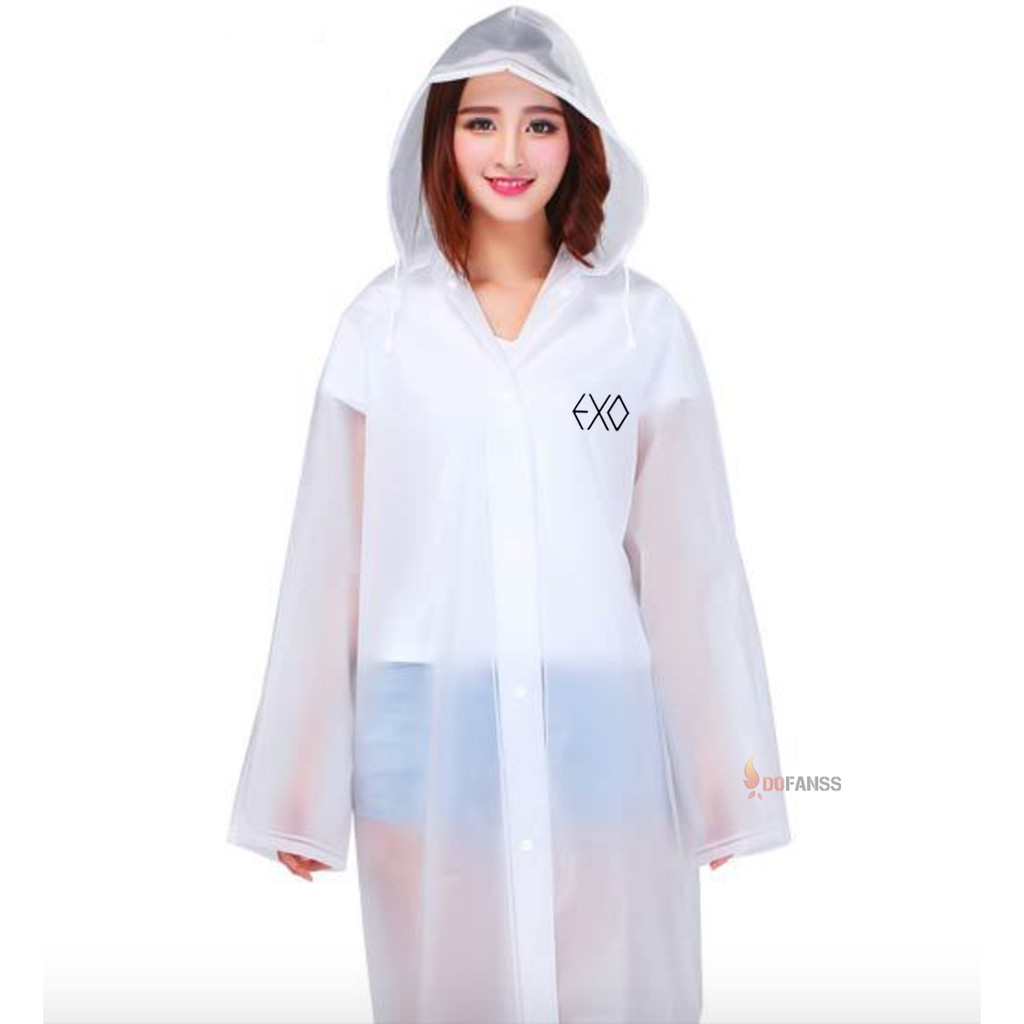 Áo mưa măng tô EXO