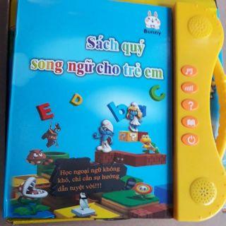 [Nhập mã TOYJUNE giảm 10K]Sách điện tử song ngữ Anh Việt cho bé 110k ( sỉ toàn quốc ).