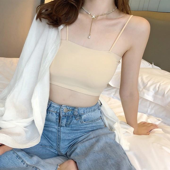 Áo bra nâng ngực Chất Đúc Su Lạnh,SIÊU MỊN (su trơn và thông hơi) (8881)