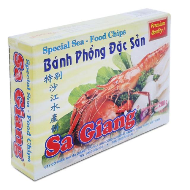 Bánh phồng đặc sản Sa Giang 200g