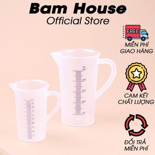 Ly đong nhựa định lượng pha chế loại lớn 100ml – 250ml Bam House cao cấp LDN01 – Gia dụng bếp