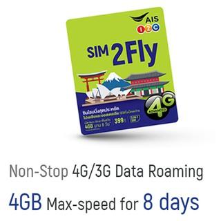 Sim Du Lịch Hàn Quốc Korea 4GB Max Speed 8 Ngày