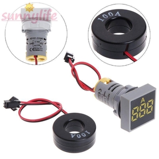 Digital Ammeter Current Meter Indication signals AC 0-100A LED Detector Electrical Components Transformer Stock