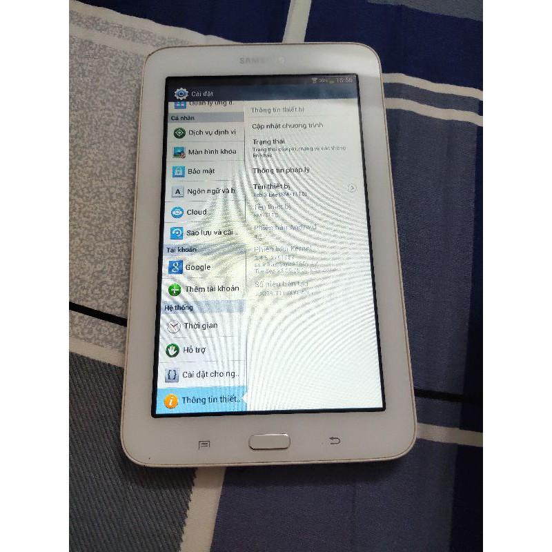 Máy tính bảng Samsung Tab 3 Lite cũ dùng đọc báo hoặc cho bé xem giải trí   SaleOff247