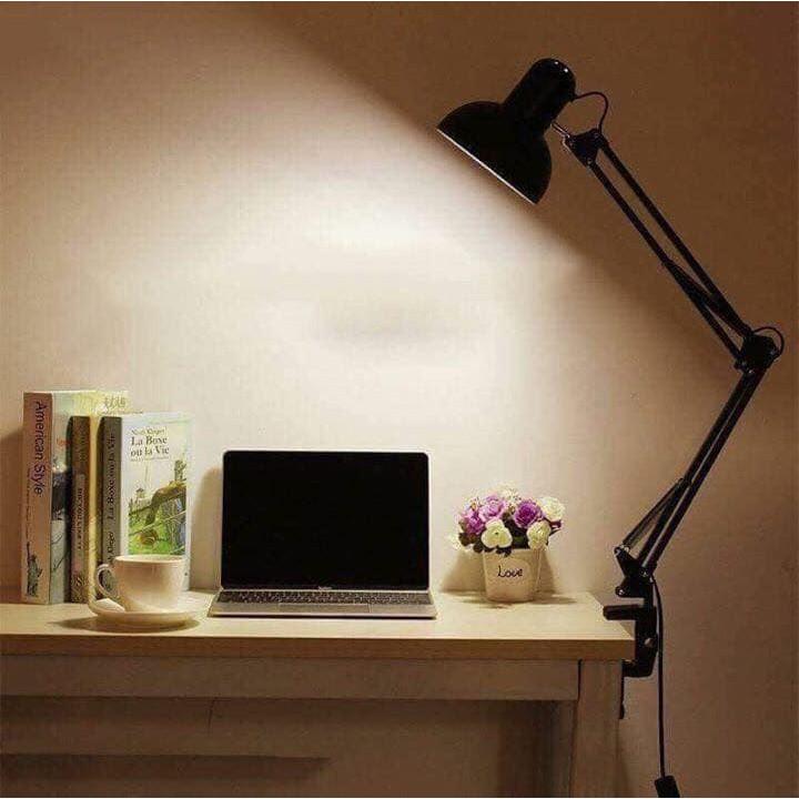 Đèn kẹp bàn Pixar Luxo, đèn học sinh đọc sách, làm việc (tặng kèm Đế và kẹp)