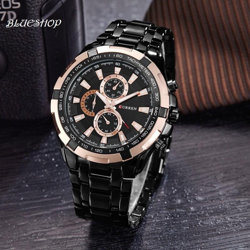 Đồng hồ nam Curren màu đen cực chất