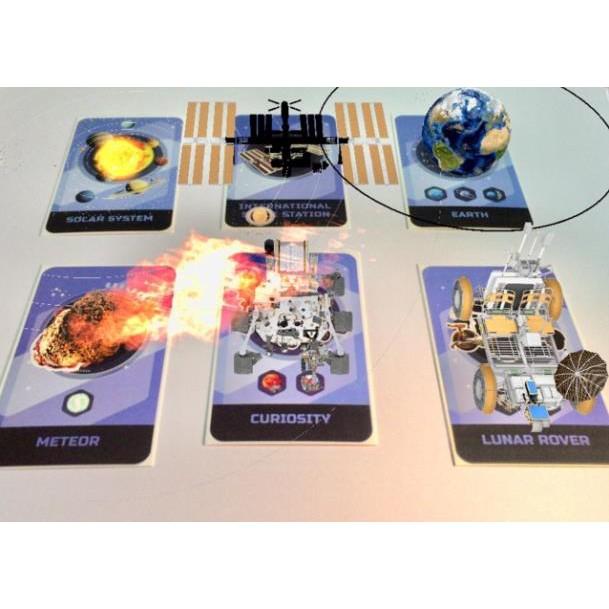 kem123 Thẻ động vật 4D💚FREESHIP💚Combo 3 bộ thẻ ANIMAL 4D, DINOSAUR 4D, SPACE 4D mới nhất