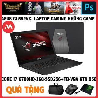 laptop ASUS GL552VX quái vật gaming core i7 6700hq, laptop cũ chơi game cơ bản đồ họa - Hàng nhập khẩu USA thumbnail