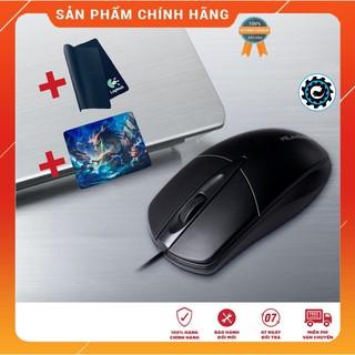 [Combo] Chuột Máy Tính Laptop M1 USB Cảm Biến Optical + Lót Chuột