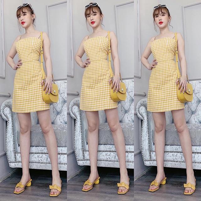 Soda Yellow Dress