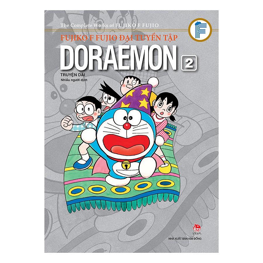(Sách Thật) Fujiko F Fujio Đại Tuyển Tập - Doraemon Truyện Dài (Tập 2)