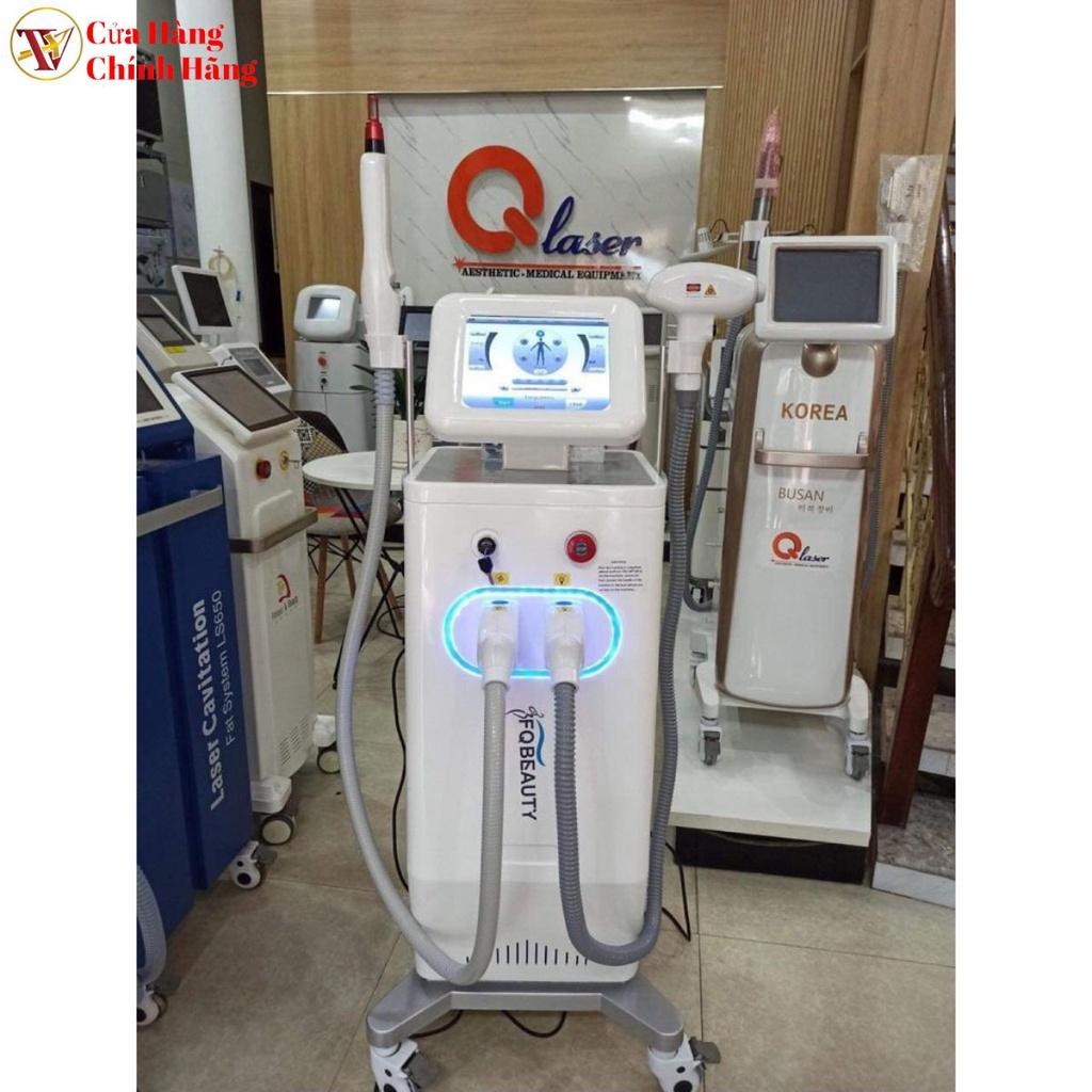 Máy Triệt Lông Diode Laser 808 2in1 Xóa Xăm 2021 Máy Bảo Hành 12 Tháng