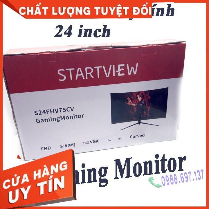 [CHÍNH HÃNG] Màn hình máy tính STAR VIEW 24 inch Full HD 75Hz- monitor gaming