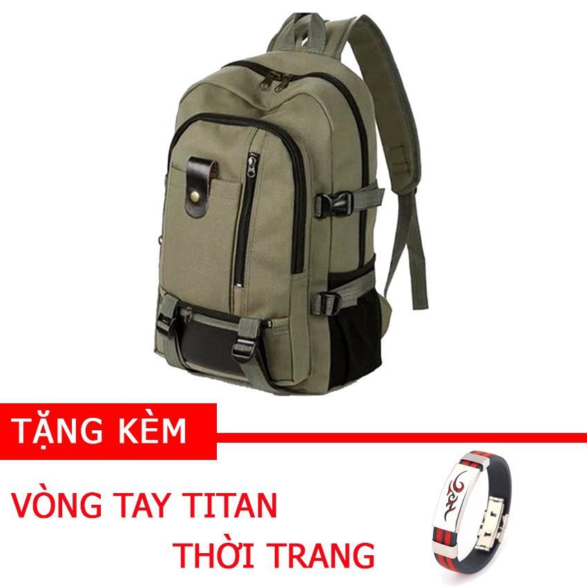 Balo du lịch đa năng TX01 tặng vòng tay titan thời trang