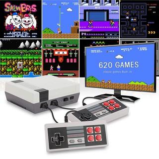 Máy chơi Game cổ điển tích hợp 620 trò chơi tích hợp 2 NES thumbnail