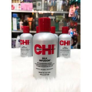 (USA 177ml) Tinh dầu dưỡng tóc CHI Silk Infusion của Mỹ thumbnail