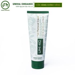 Kem tẩy lông Umi 4C (100ml) an toàn cho da nhạy cảm – Tẩy lông Vùng kín, Bikini, Nách, Chân, Tay, Bụng, Ngực tại nhà