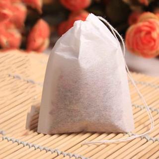 Bộ 100 lọc vải dùng pha trà size 5*7cm