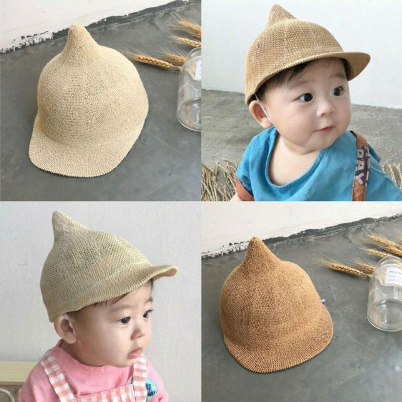 Mũ chóp cho bé