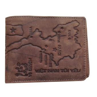 Ví da thời trang nam dập nổi bản đồ Việt Nam (Màu Da bò) - 3403985 , 1207849531 , 322_1207849531 , 129000 , Vi-da-thoi-trang-nam-dap-noi-ban-do-Viet-Nam-Mau-Da-bo-322_1207849531 , shopee.vn , Ví da thời trang nam dập nổi bản đồ Việt Nam (Màu Da bò)